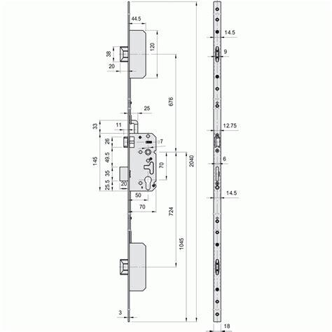 Serrure 3 Points Encastrable 1878 by Serrure 3 Points Encastrable Amazone A2p M 201 Talux Bricozor