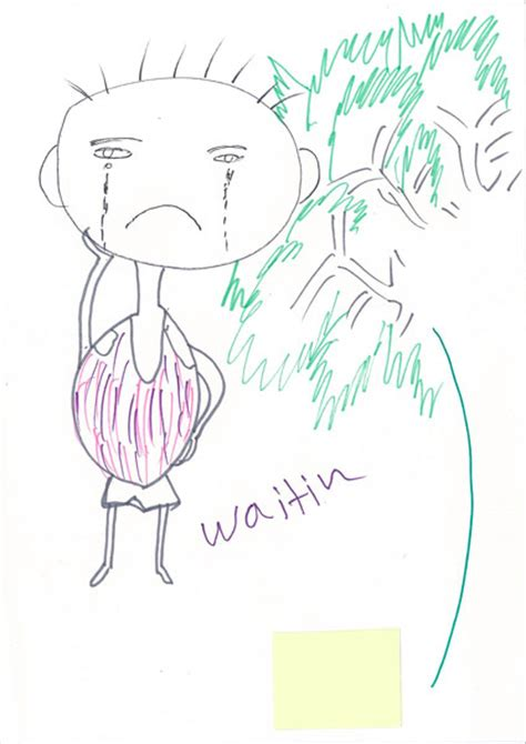 Drawings Made By Children in their own words 25 drawings from children in detention