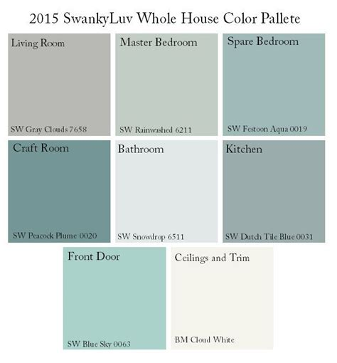 sherwin williams color search 25 best ideas about house color palettes on pinterest