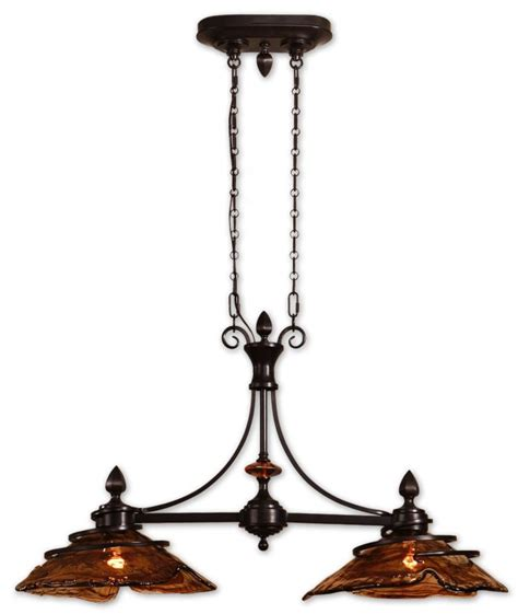 oil rubbed bronze kitchen light fixtures uttermost 21225 oil rubbed bronze 2 light kitchen island