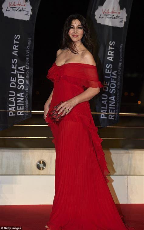 monica bellucci opera monica bellucci in valentino la traviata valencia premiere