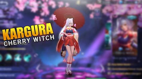 Kagura Cherry Witch by New Kagura Cherry Witch Skin New Update Mobile