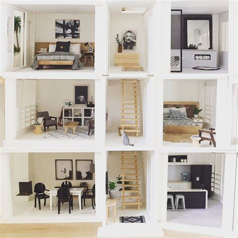 modern dollhouse modern dollhouse by the dollhouse emporium malibu