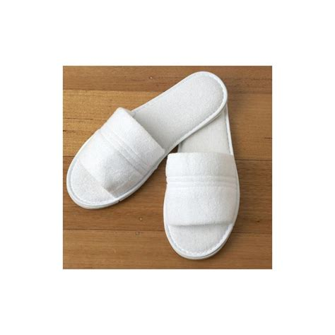 bathroom slippers spa bathroom slippers ribbed branded promotional bath