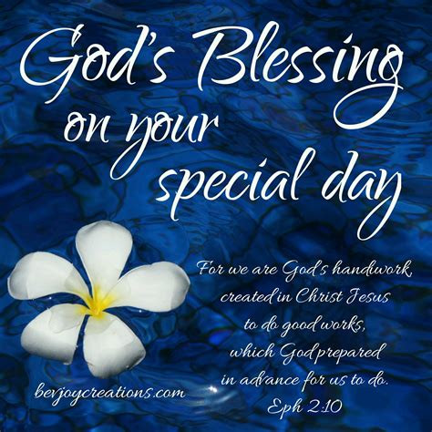 God Blessing Quotes On Birthday God S Blessings On Your Special Day Bevjoy Creations