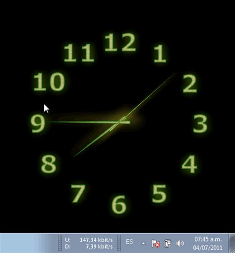 descargar reloj para escritorio reloj de cocina an 225 logo con n 250 meros en el escritorio de
