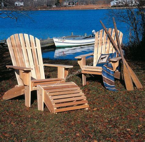 adirondack chair cabin pinterest cedar furniture