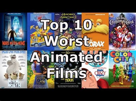 best animated movies gamesradar my top 10 worst animated films youtube