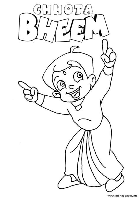 Sketches To Color by Sketches Of Krishna Chhota Bheem Coloring Pages