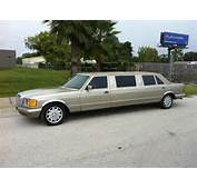 Mercedes Benz 500 SEL W126 Limo Looks Drug Lord Friendly