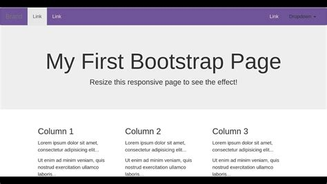 bootstrap tutorial on youtube bootstrap tutorial for beginners step by step in 4 min