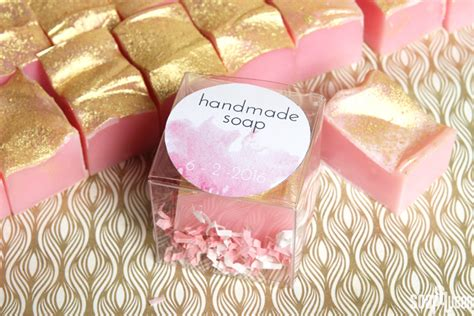 Wedding Favors Soap by Cold Process Soap Wedding Favor Tutorial Free Printable