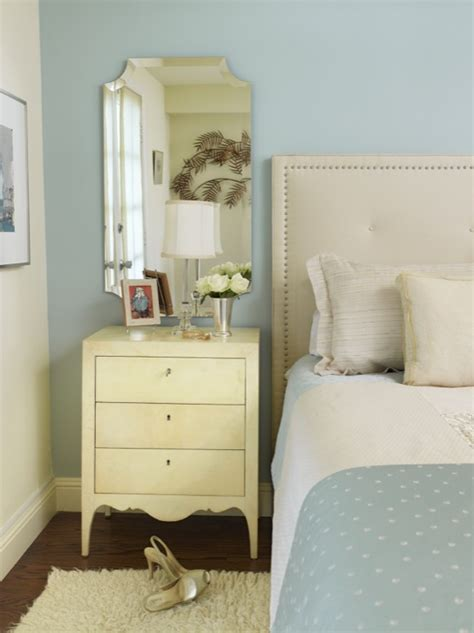 Mirrors Above Nightstands Nightstand Transitional Bedroom Coddington Design