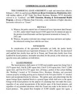 generic lease agreement template sle generic lease agreement 9 exles in word pdf