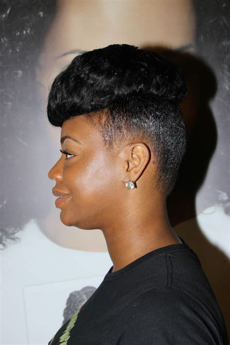 natural hairstyles with design essentials design essentials pompadour hair style natural hair