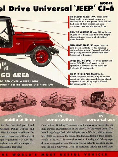 1959 jeep ad 01 1110 best images about oiiiiiiio on pinterest jeep