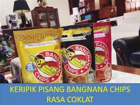Snack Kripik Pisang Bangnana Chips produksi feature pengolahan keripik pisang kecama