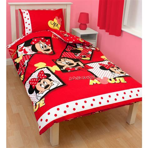 minnie mouse bedding and curtains minnie mouse diva duvet cover 54 quot curtains set new