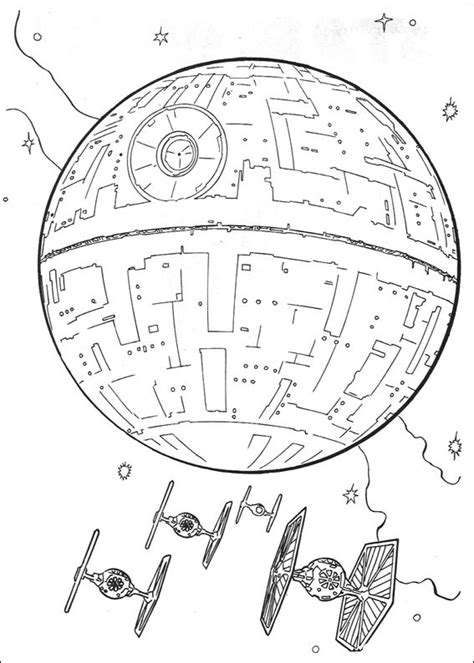 free star wars gun ship coloring pages