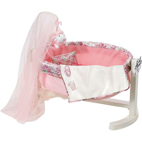 baby annabel crib baby annabell 174 puppenwiege mit nachtlicht puppenbett baby