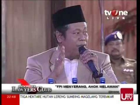 ahok youtube 2014 ilc 14 oktober 2014 komnetar marsudi syuhud sekjen pbnu