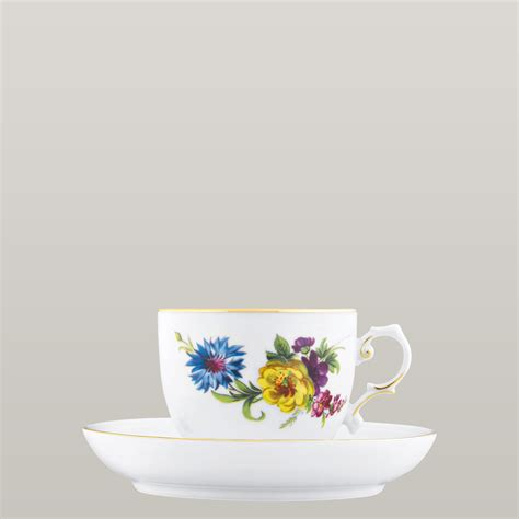 Coffee Cup With Saucer coffee cup saucer with insert f 220 rstenberg porcelain