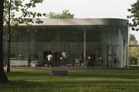 pavillon shop pritzker prize worthy sanaa s glass pavilion at the