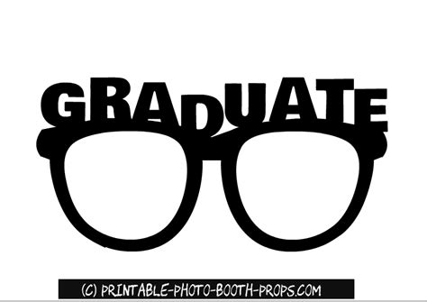 printable photo booth props graduation graduation photo booth props printable pictures to pin on