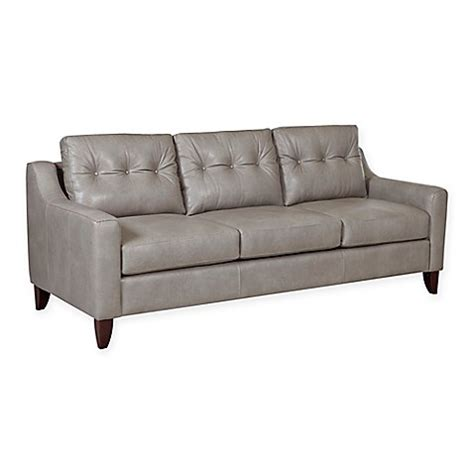 Buy Klaussner Audrina Leather Tufted Sofa In Putty From Buy Tufted Sofa
