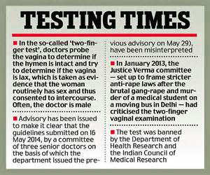 Kate Moss Must Pass A Test Before Entering The Us by Delhi Health Minister Says Guidelines On Two Finger Test