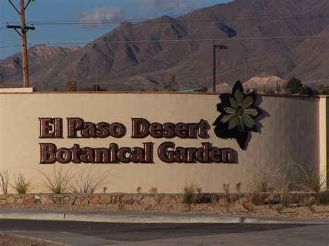 El Paso Desert Botanical Garden El Paso Desert Botanical Garden Keystone Heritage Park El Paso Desert Botanical Garden El