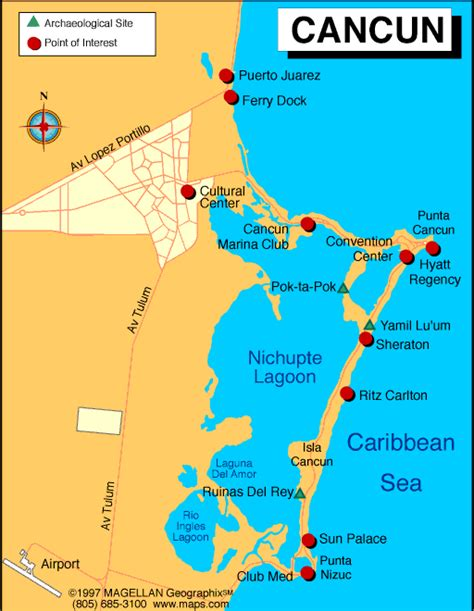 map of cancun mexico cancun mexico map search sun sand and sea