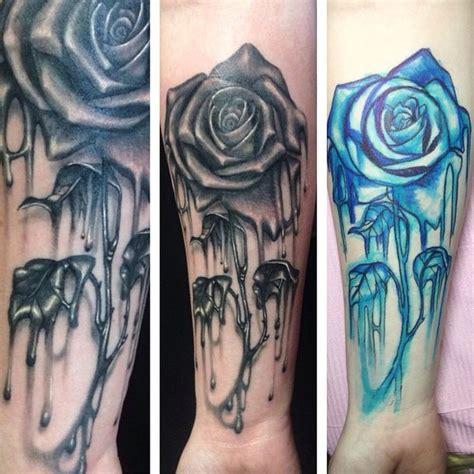 melting rose tattoo melting www pixshark images galleries