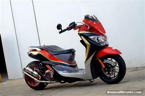 honda moove honda moove custom modified khmer motors