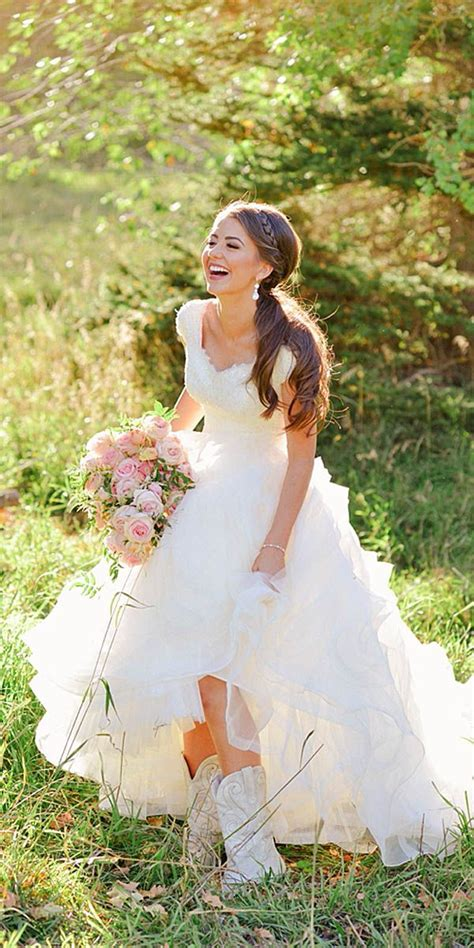 country style wedding boots best 25 wedding dress boots ideas on