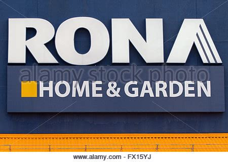 rona home improvement store ontario canada stock photo