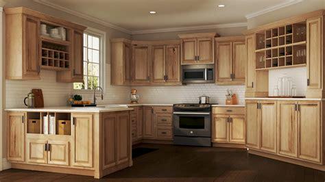 hampton wall kitchen cabinets natural hickory kitchen home depot