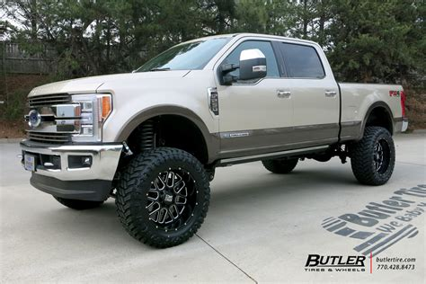 Ford F250 Rims by Ford F250 With 22in Xd Grenade Wheels Exclusively From
