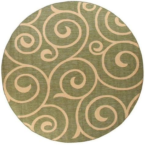 Home Decorators Collection Whirl Natural Sage 8 Ft 6 In 8ft Rug