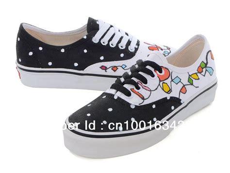 decorar zapatos deportivos zapatillas de deporte pintadas a mano del cord 243 n negro
