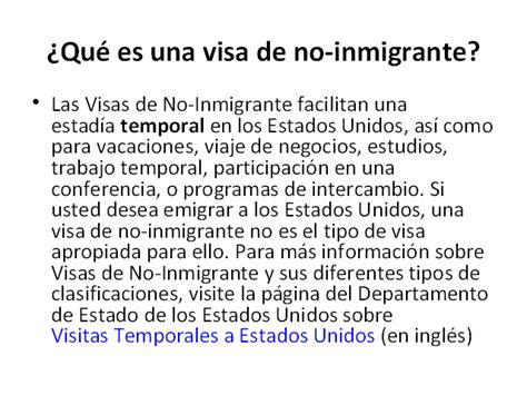 visas de inmigrante embajada de los estados unidos en derecho migratorio monografias com