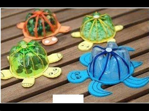 maquetas de tortugas con botella dulcero tortuga reciclado dia del ni 241 o favarit video