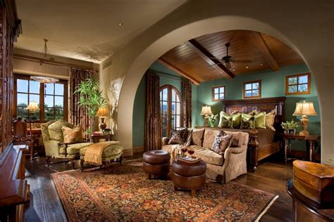 Cottage Style Dining Room Furniture by Beautiful Spanish Hacienda In La Quinta Ca Homes Of The