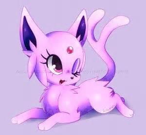cute little pink espeon pink pinterest