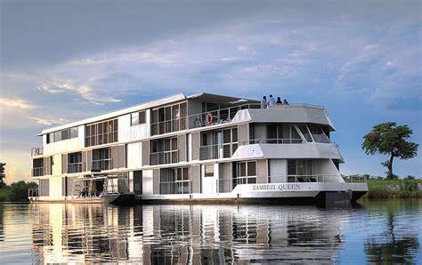houseboat zambia zambezi queen houseboat african wildlife safaris