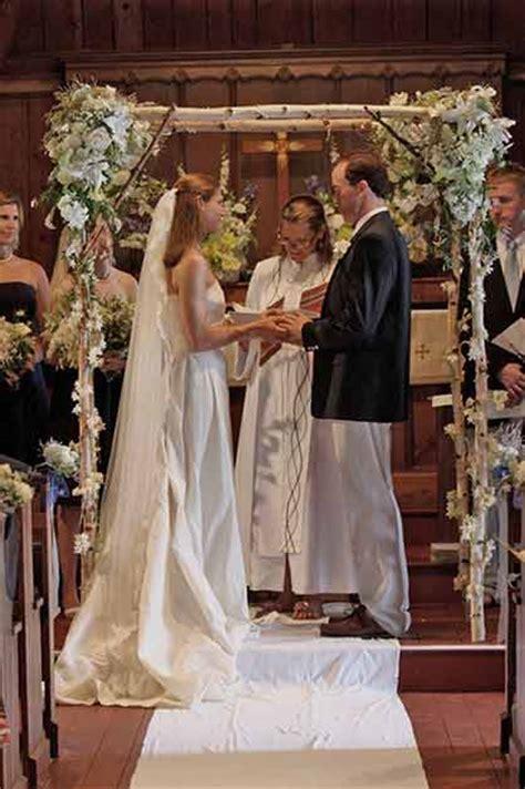 Wedding Arch Inside Church by Indoor Ceremony Background Ideas Weddingbee
