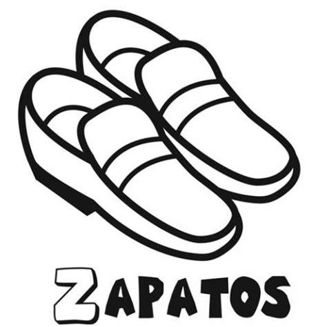 imagenes infantiles de zapatos dibujo de zapatos para colorear con los ni 241 os