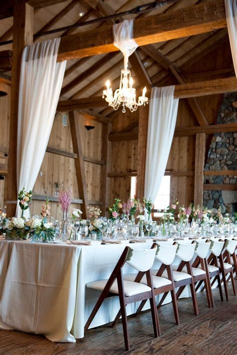 rustic white themed weddings and petticoats on