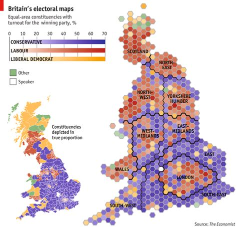 map uk south divide the economist s political map of the uk the south