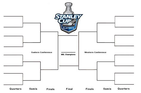 2015 nhl hockey playoff printable brackets printable 2015 nhl bracket newhairstylesformen2014 com